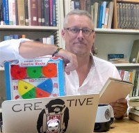 David Kyle in his office